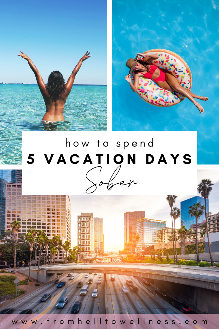 In addition to the many places to get tipsy in L.A., there are also dozens if not hundreds of spa and wellness spots where you can get pampered while focusing on wellness so that you don't risk a relapse. We put together a 5-day sober and wellness Los Angeles itinerary that will guide you through five days of pampered bliss and excitement to help keep you on the wagon!  #sober #soberliving #travel #wellness #losangeles #california